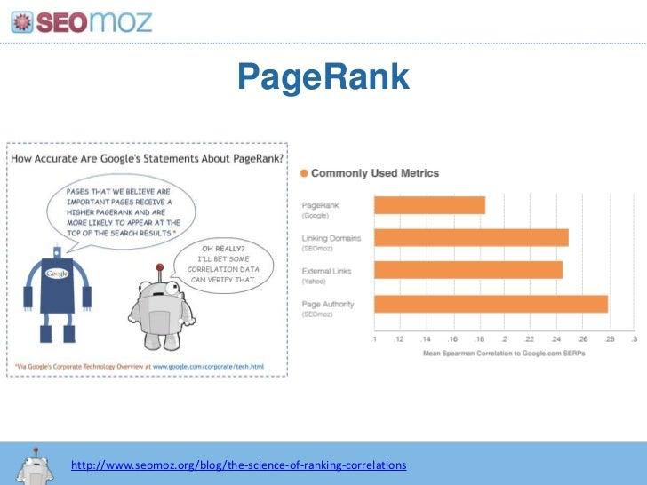 PageRank<br />http:/googleblog.blogspot.com/2010/06/our-new-search-index-caffeine.html<br />http://www.seomoz.org/blog/the...