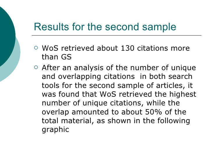 an analysis of scholar These include quantitative or qualitative data and analysis in science, an empirical article will often include the following sections google scholar takes google's pagerank algorithm and runs it on a pre-selected set of tables-of-contents and metadata from a preselected set of.