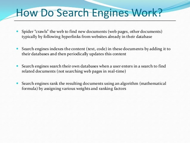 google seo search engine optimization introduction powerpoint present