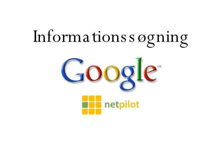 Informationssøgning