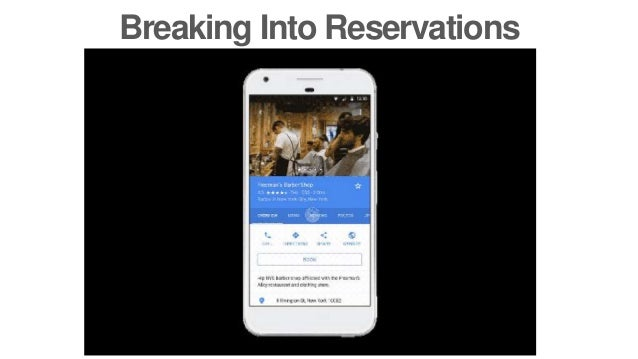 Breaking Into Reservations