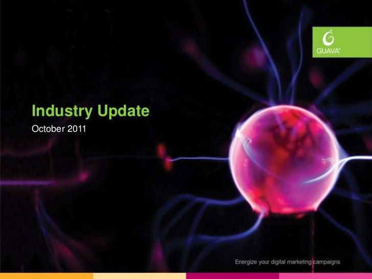 Industry UpdatesIndustry UpdateOctober 2011