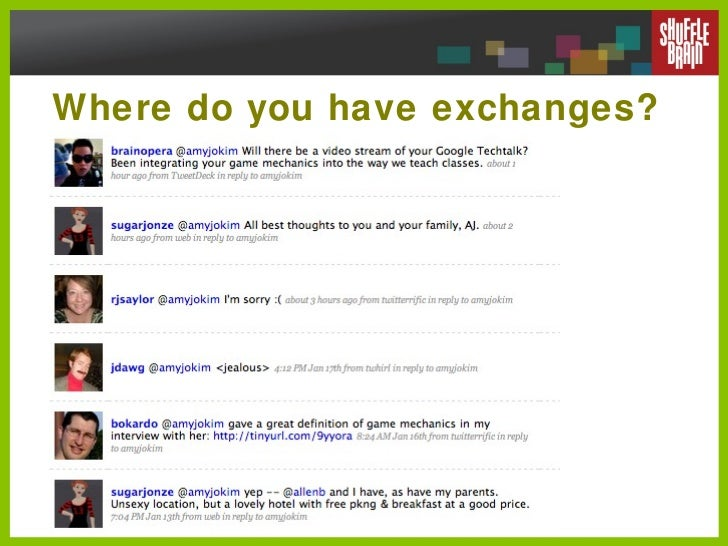 Where do you have exchanges?