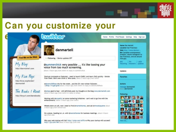 Can you customize your experience?