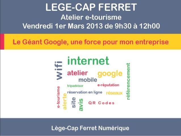 Le Géant Google, une force pour mon entreprise    LE MOTEUR DE RECHERCHE GOOGLE :          Comment ça marche ?