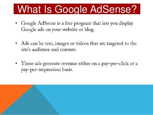 google adsense tutorial pdf free