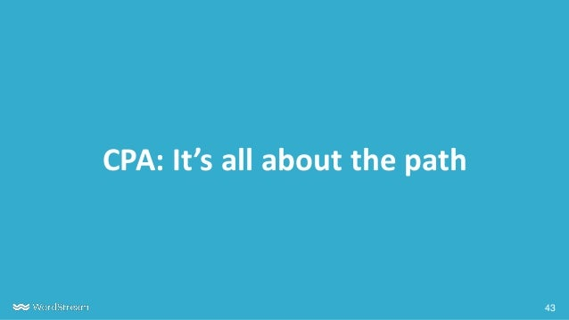 43 CPA: It's all about the path