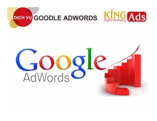 Google adwords - Dịch vụ quảng cáo uy tín tại King Ads