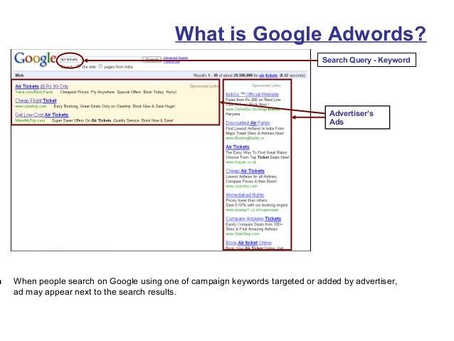 Google Adwords Overview Slide 3
