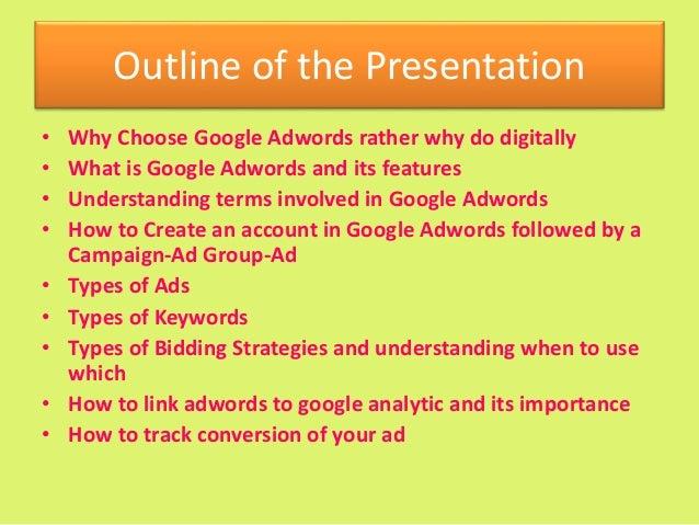 Google Adwords by Neha Nayak Slide 2