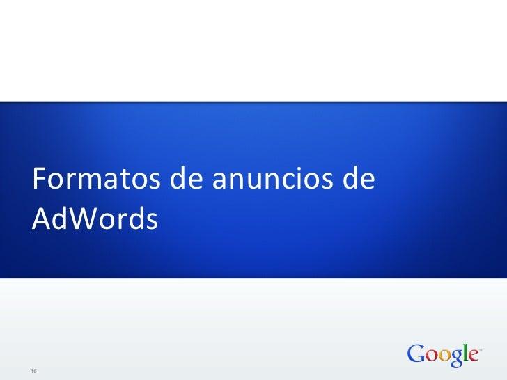 Formatos de anuncios de AdWords  46