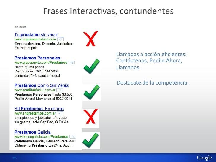 Frases interacHvas, contundentes                                 Llamadas a acción eficientes:               ...
