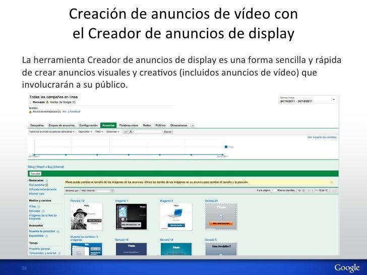 Creación de anuncios de vídeo con                  el Creador de anuncios de display La herram...