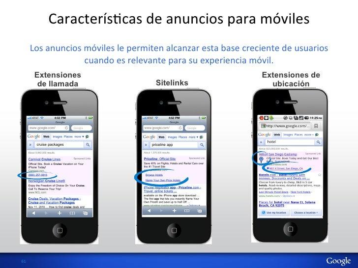 CaracterísHcas de anuncios para móviles          Los anuncios móviles le permiten alcanzar esta ba...