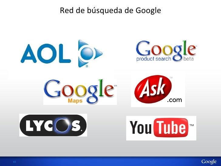 Red de búsqueda de Google 65