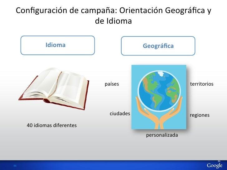 Configuración de campaña: Orientación Geográfica y                             de Idioma                    ...