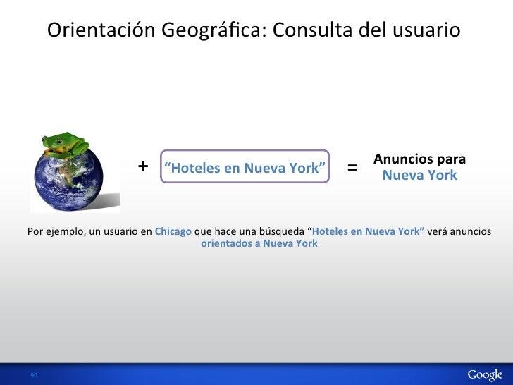 Orientación Geográfica: Consulta del usuario                                                                     ...