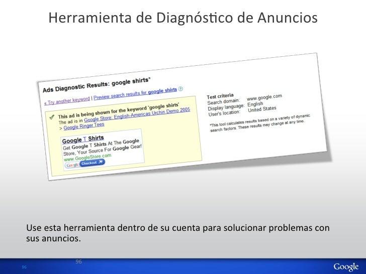 Herramienta de DiagnósHco de Anuncios     Use esta herramienta dentro de su cuenta para solucion...