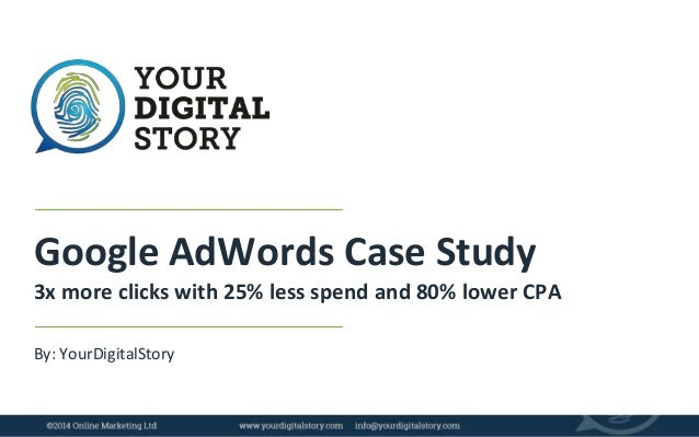 google adwords case studies Google adwords has recently revamped it's quality scoring system for landing pages the change affected a small number of sites however, those sites saw significent changes to their min cpcs.