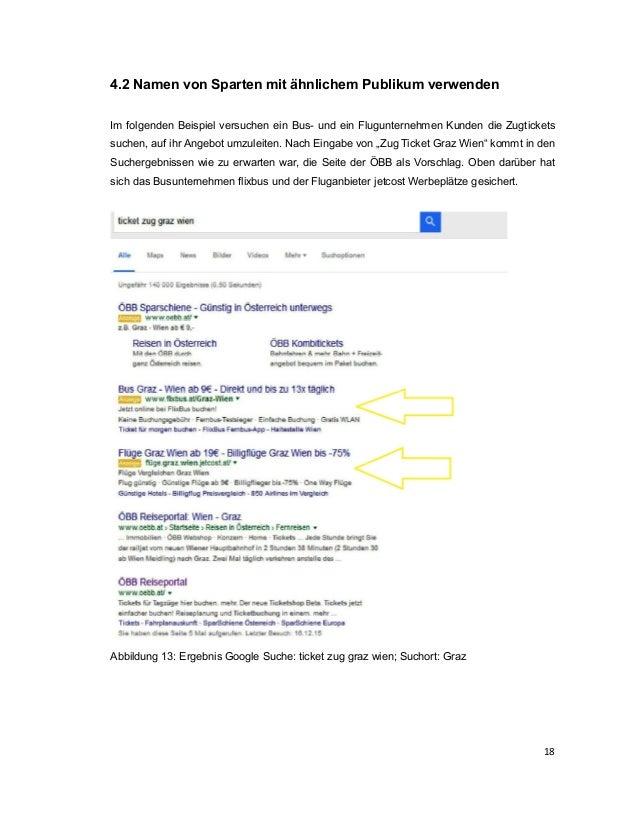 Stefan Kleinberger: Google Adwords zur Bewerbung von Veranstaltungen