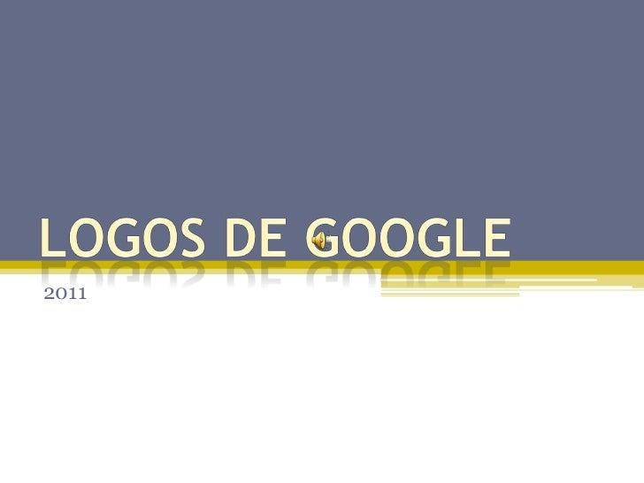 Logos de Google<br />2011<br />