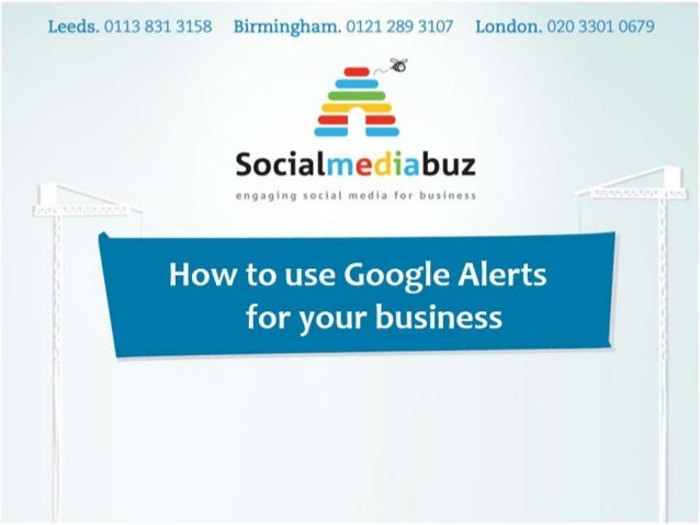 What is Google Alerts? Google Alerts is a free monitoring functionality from Google which sends the users an email every t...