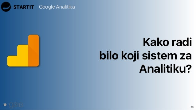 Google Analitika 15 Kako radi bilo koji sistem za Analitiku?