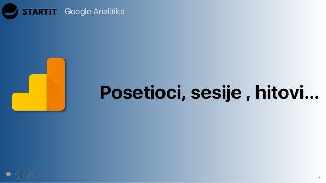 Google Analitika 7 Posetioci, sesije , hitovi…