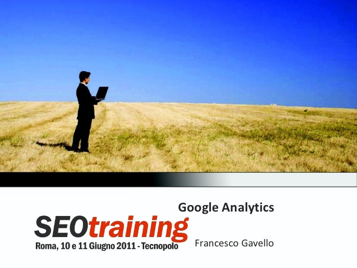Google Analytics Francesco Gavello