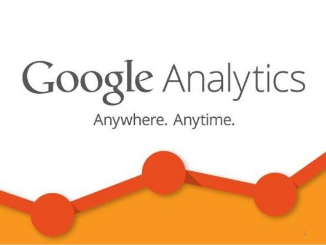Google analytics基礎講座 Slide 1