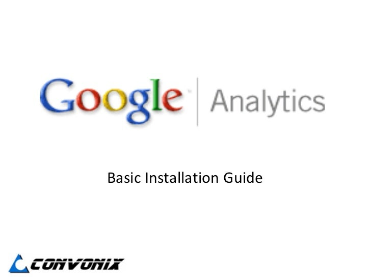 Basic Installation Guide