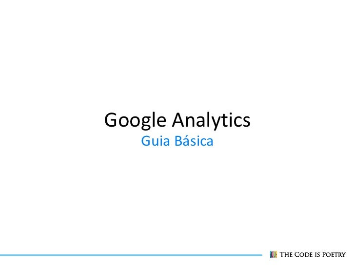 Google Analytics    Guia Básica