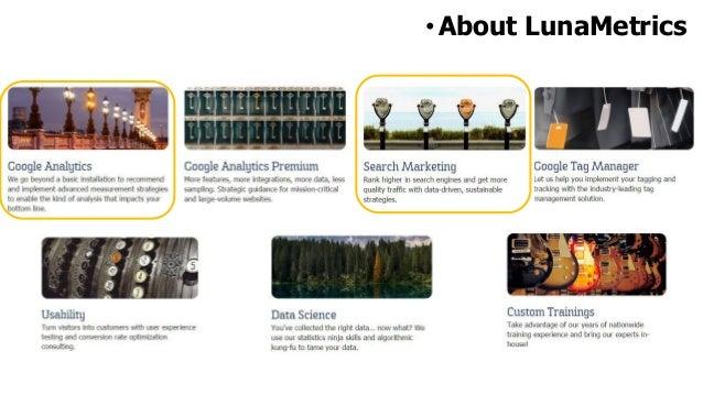 •LunaMetrics Clients