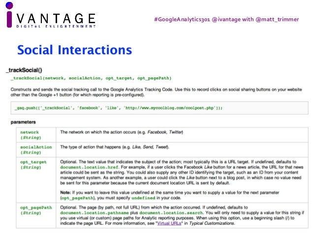 Google analytics 301 - architecture, processing