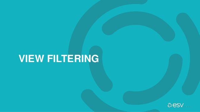 VIEW FILTERING