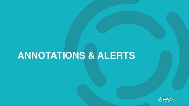 ANNOTATIONS & ALERTS
