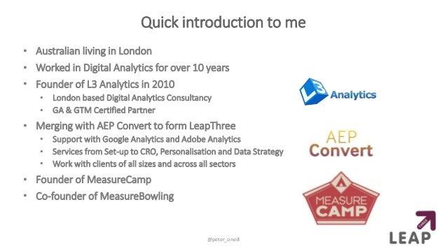 Google Analytics Crash Course Slide 2