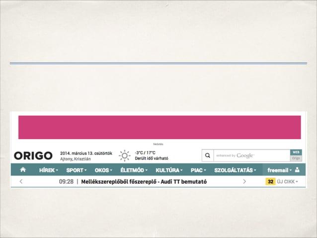 Találat nélküli kulcsszavak jelölése Virtuális URL-ben kiegészítjük a kulcsszót 'no-results' taggel pl. ga('send', 'pagev...