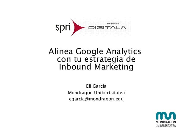 Alinea Google Analytics 