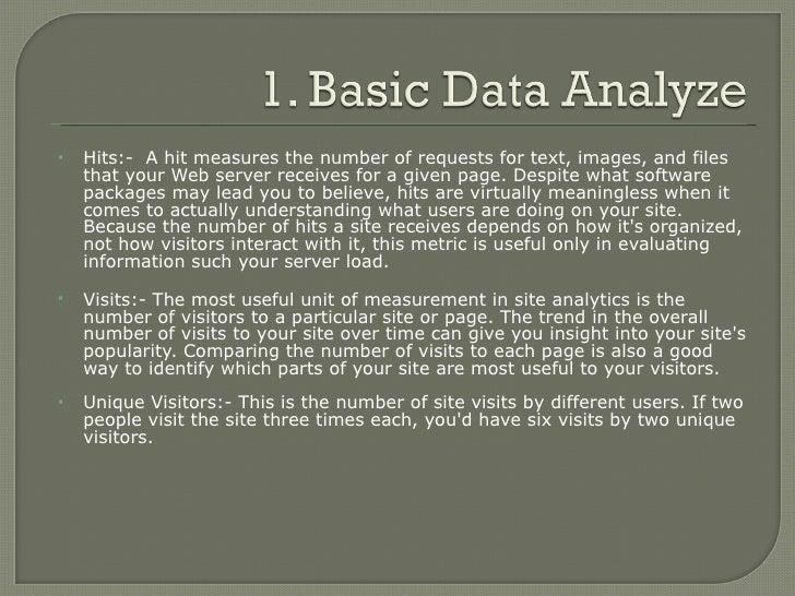 Web Analytics Basics Slide 3