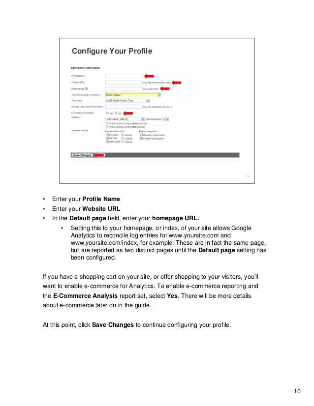 Google Analytic Training 12