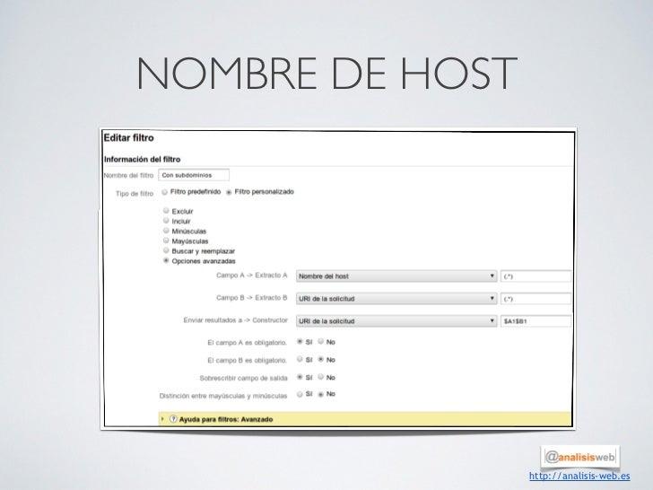NOMBRE DE HOST                 http://analisis-web.es