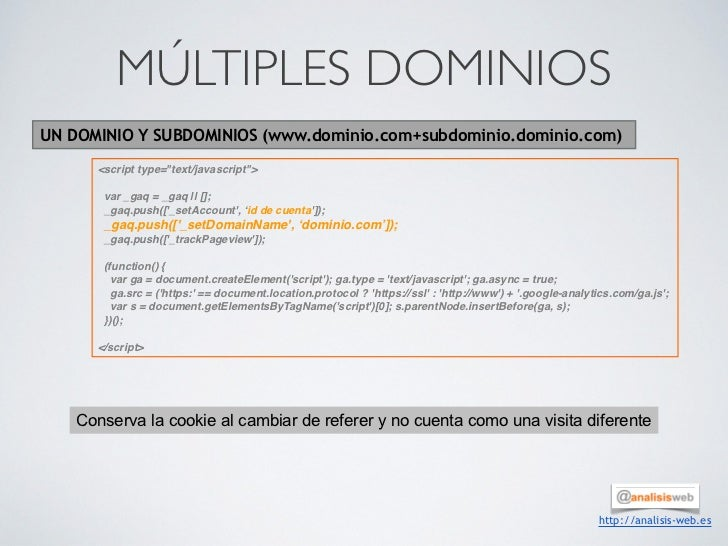"MÚLTIPLES DOMINIOSUN DOMINIO Y SUBDOMINIOS (www.dominio.com+subdominio.dominio.com)      <script type=""text/javascript"">  ..."