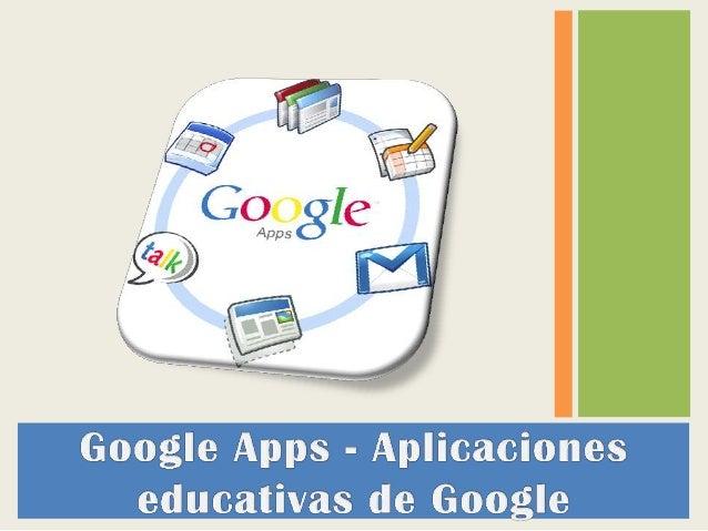 Google Apps es un conjunto de las mejores herramientas de Google personalizadas para nuestro dominio. Sin necesidad de ins...