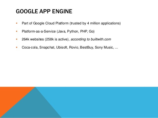how to create application in google app engine