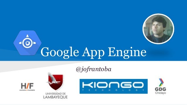 Google App Engine @jofrantoba