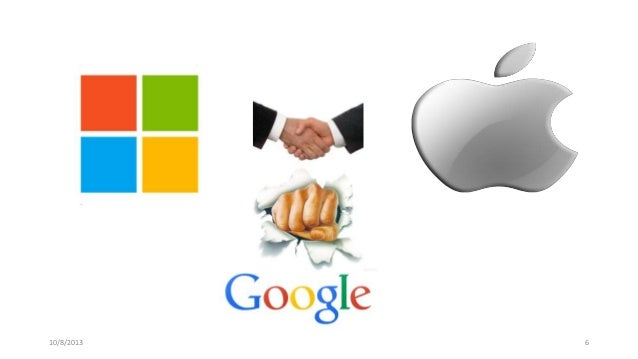 Google apple and microsoft struggle for