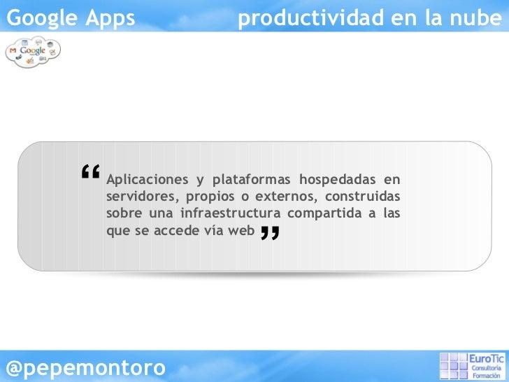 Google apps Slide 3