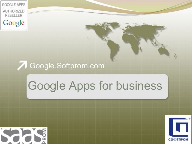 Google.Softprom.com Google Apps for business