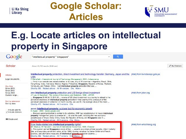 google your way to articles in the library u0026 39 s collection